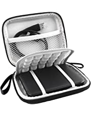 lovelyhome EVA Shockproof Portable 500GB 1TB 2TB USB 3.0 Portable 2.5 inch External Hard Drive Travel Bag (Black)