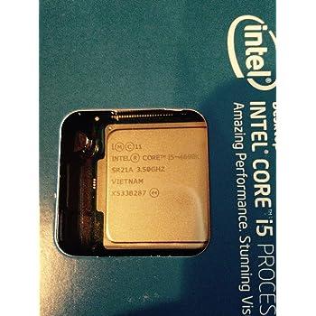 Intel 1150 i5-4690K Ci5 Box Processore da 3,5 Ghz, Nero