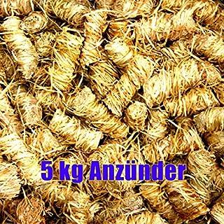 5 kg Ritz Bio-Anzünder Kaminanzünder aus Holzwolle mit Wachs