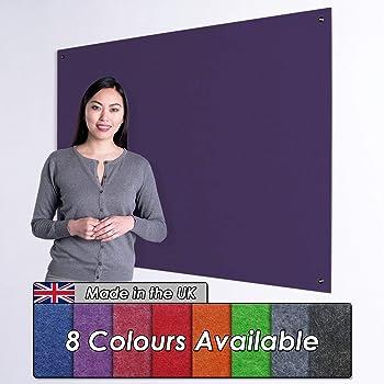 Aluminium Frame Wonderwall Premium Noticeboard 90 x 60cm with Fixings Sky