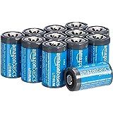 Amazon Basics - Pilas de litio CR2 de 3 V, Pack de 12