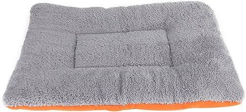 Acogedor Warm Tierbett Matte, Pet Decken für Hunde Katzen, selbstwärmende und Cozy für Verbesserte Sleep, Waschbar Hundekissen Hundebett Hunde Matte Hunde Decken, 3Größen