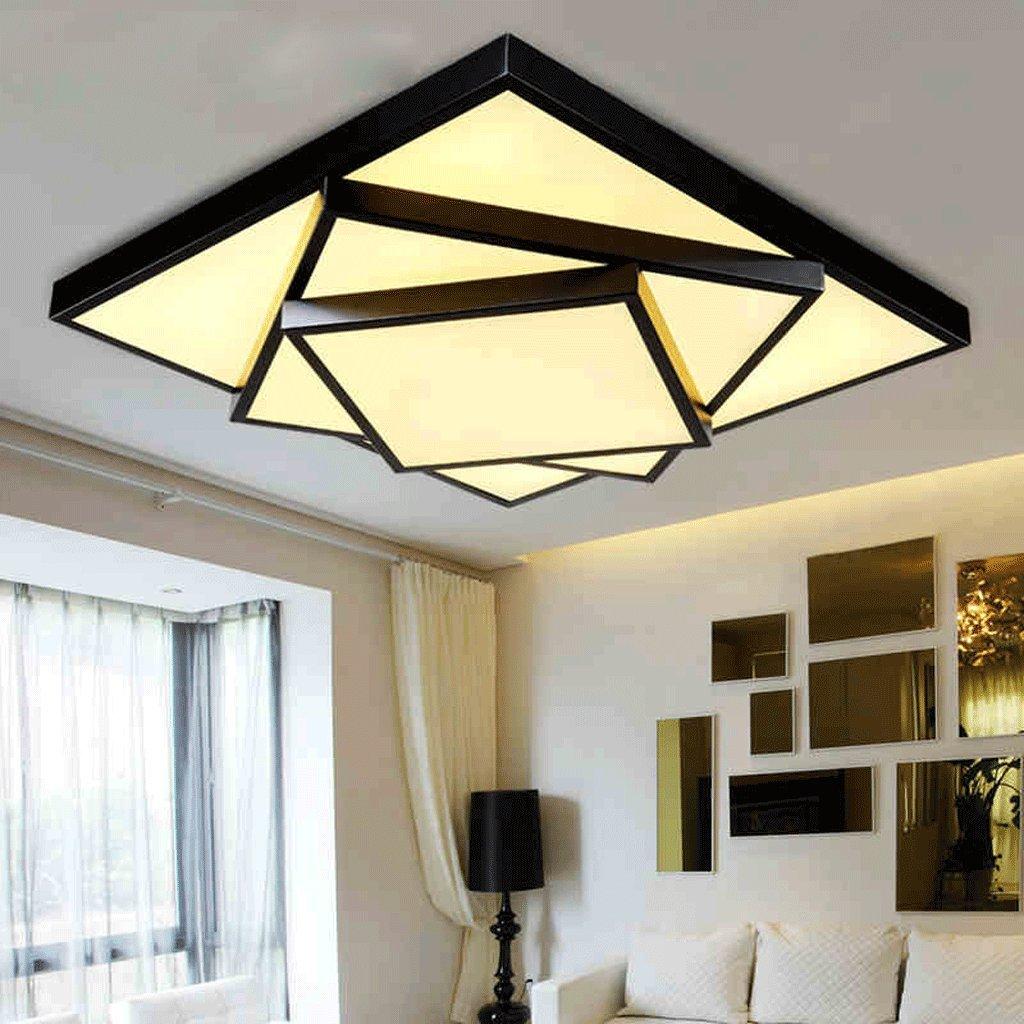 Kreative LED Deckenleuchte Modernen Minimalistischen Wohnzimmer Lampe Schlafzimmer Dimmen Gemtliches Restaurant Beleuchtung Lampen Platz Amazonde
