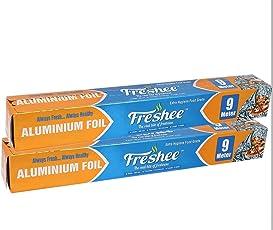Freshee Aluminium Foil Roll 9 Mtrs (Pack of 2)