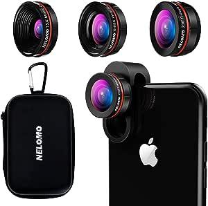 Nelomo Universelles Professionelles Hd Kamera Objektiv Set Für Iphone Xr Xs X 8 7plus 7 6s Plus 6s Samsung S8 S8 Und Andere Handys