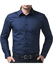 Being fab Men's Cotton Casual Shirt