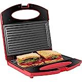 Gotoll Sandwichera Grill,Parrilla Eléctrica,Placas de Grill Electricas Antiadherentes 750W con Capacidad para 2 Sándwiches To