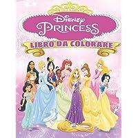 Disney Princess Libro Da Colorare: Disney Princess Libro Da Colorare : Libro Da Colorare Principessa Disney per bambini…