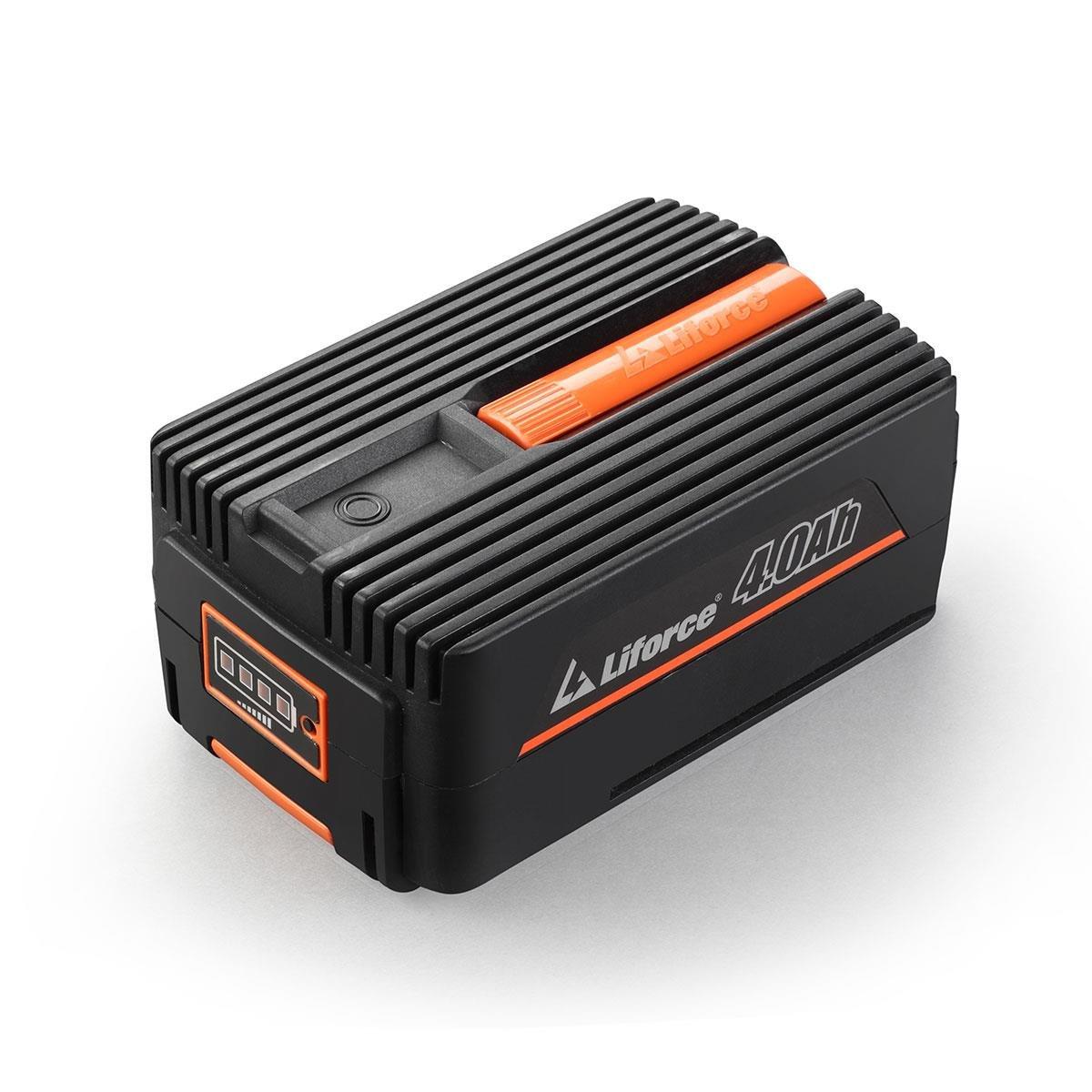 Fuxtec 40V Akku Rasenmäher Set E137C 37cm Lithium Batterie von Samsung mit one Battery fits alle Geräte – ETM…
