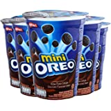 Mini Oreo Chocolate Flavoured Cream Pack of 6 Pouch, 6 x 67 g