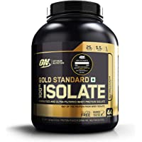 Optimum Nutrition (ON) Gold Standard 100% Isolate Whey Protein Powder - 3.0 lb, 44 servings (Rich Vanilla)