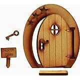Alchemy Engraving, porticina fatata del Polo Nord (versione inglese), porticina fatata tridimensionale in legno da assemblare