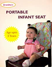 Grandma's Portable Infant Chair Harness for Newborn, 6 - 18 Months (Assorted, BPISAS10)