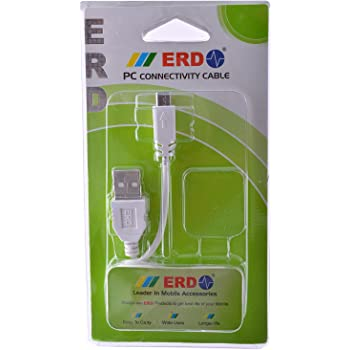 Erd Pc-12 Micro Data Usb Data Cable for Erd Pc-12 Micro Data White