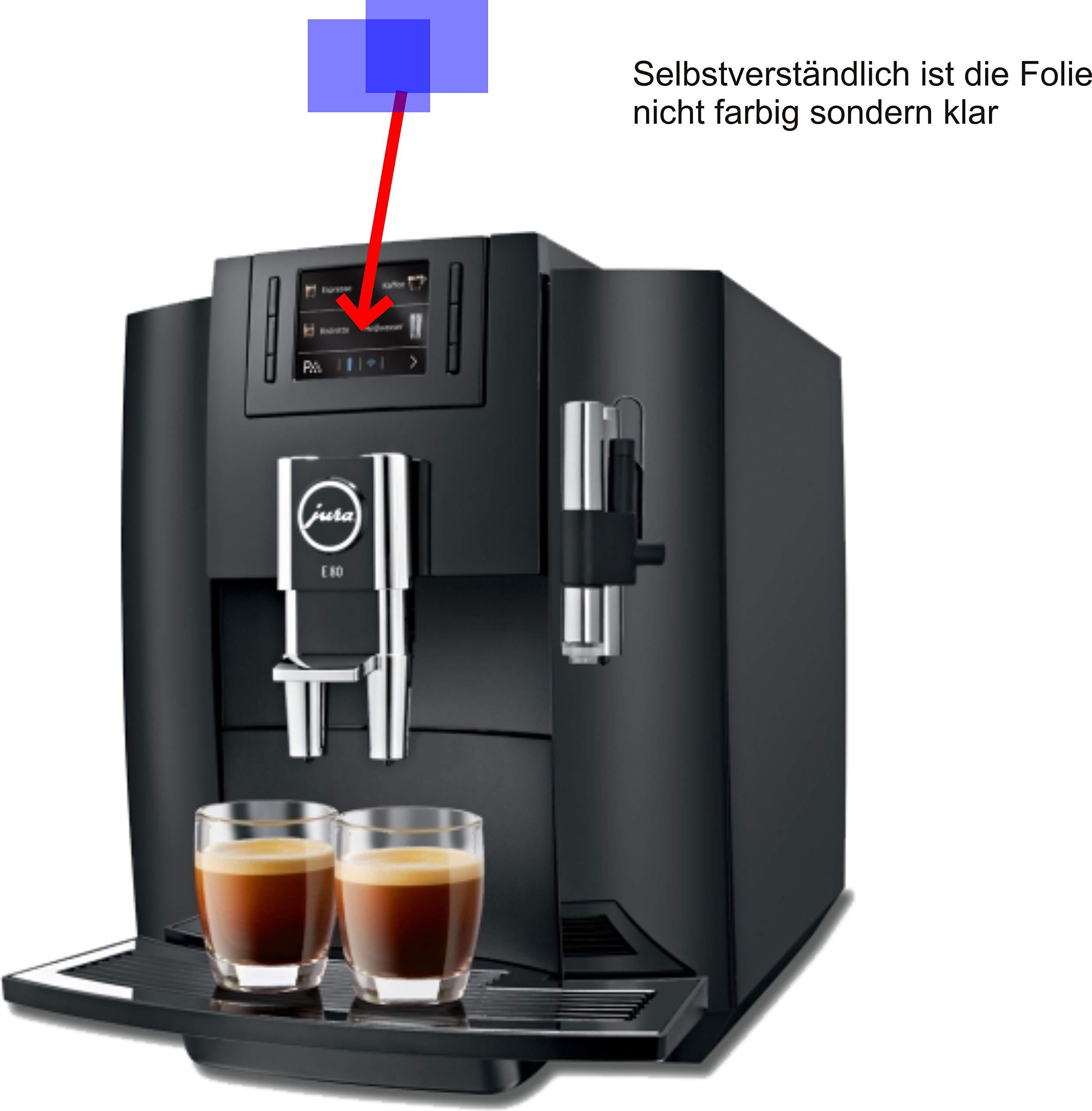 2X-ANTIREFLEX-matt-Schutzfolie-fr-Jura-E80-Piano-Black-15083-Kaffeevollautomat-Displayschutzfolie-Bildschirmschutzfolie-Schutzhlle-Displayschutz-Displayfolie-Folie