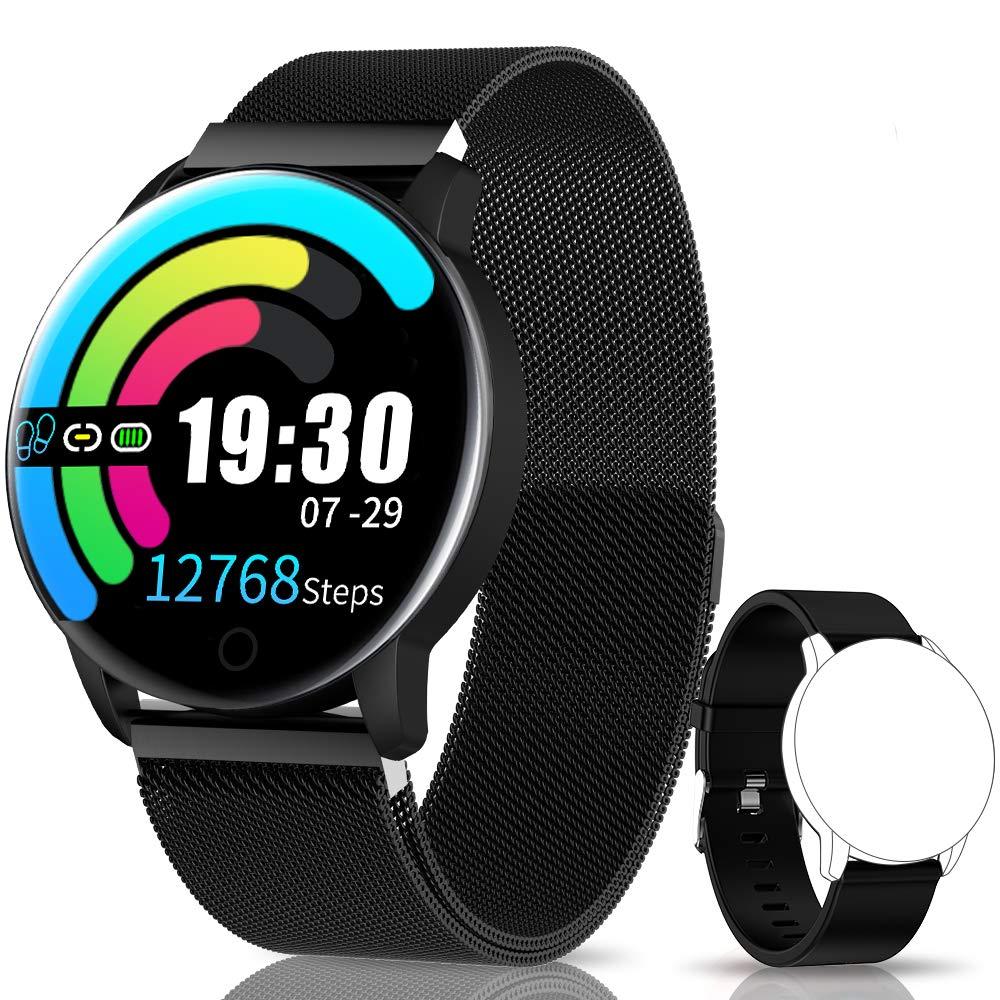 NAIXUES Smartwatch, Reloj Inteligente IP67 con Presión Arterial, 10 Modos de Deporte, Pulsómetro, Monitor de Sueño… 1