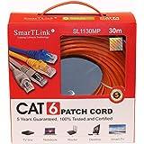 SMARTLINK 30 Meter RJ45 CAT6 ETHERNET LAN NETWORK Cable