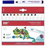 MP - Rotuladores Camaleón, Cambian de Color - 12 Rotuladores Multicolor