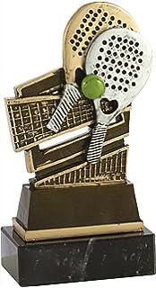 Argento//Verde Art-Trophies at81241/Trofeo Sport Taglia Unica