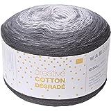Rico creative Bobbel Cotton Dégradé Fb. 005, 200g Bobbel mit dezentem Farbverlauf, ca. 800m Farbverlaufsgarn
