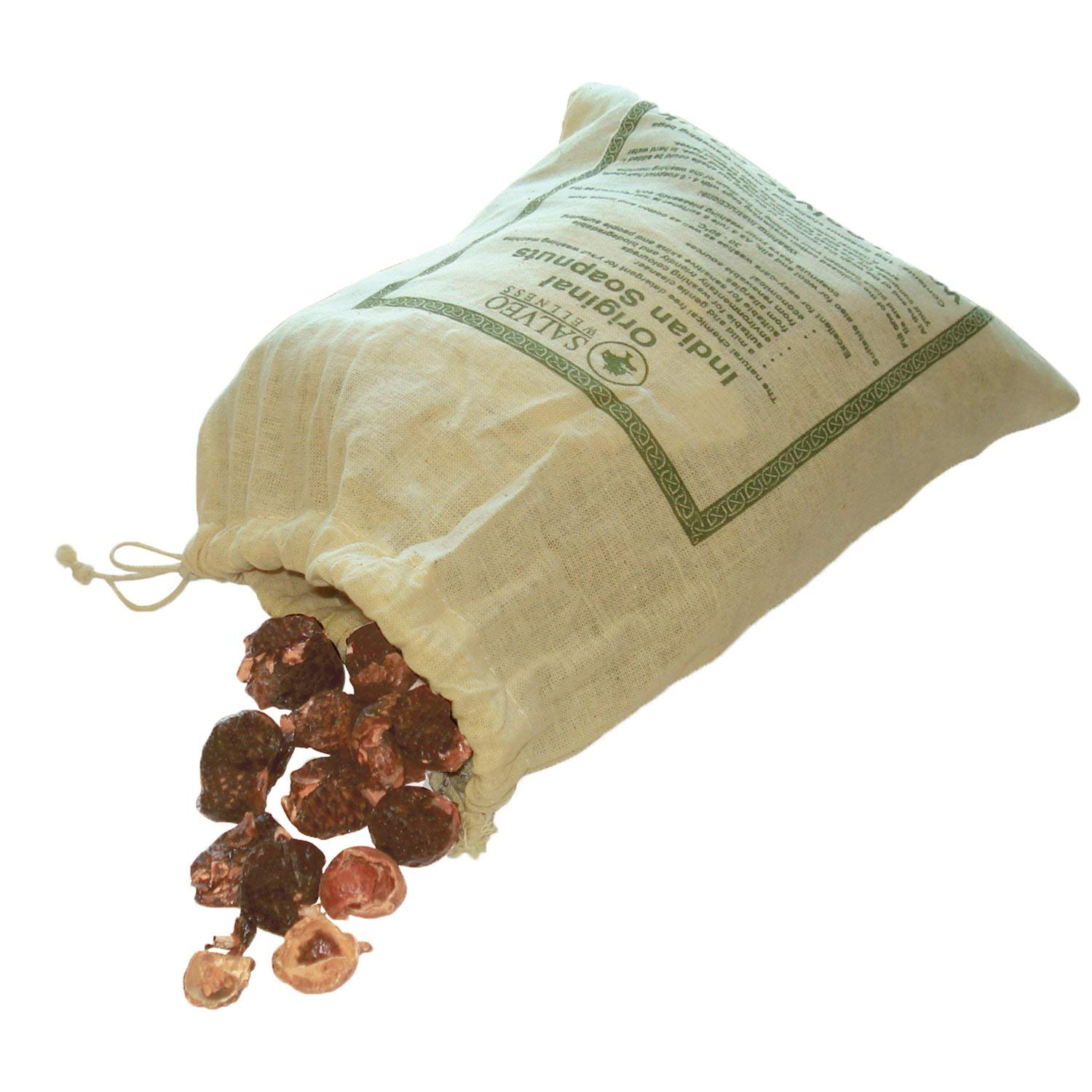 Salveo Natural Indian Soap Nuts 1Kg – Eco-Friendly Laundry Detergent