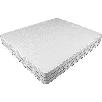 Baldiflex Materasso Matrimoniale Easy 2.0 in Memory Foam, Ortopedico, Antiacaro, 160x190x22cm