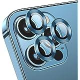 Deyooxi [3-pack] kameralinsskydd för iPhone 12 Pro, Stilla havet blå