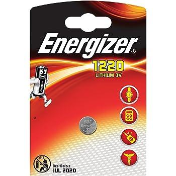 ec2311887bf797 ENERGIZER Lot de 6 piles bouton au lithium Cr1220 Dl1220 3 V  Amazon ...