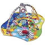 Lionelo Anika 2 in 1 Palestrina neonato box bambino per neonati con cuscino per la pancia due archetti giochi pendenti libric