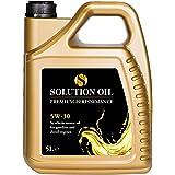 Solution Oil Motorolie Premium Performance 5W30 Longlife voor Benzine- en Dieselmotoren - 5-literfles -Brandstofbesparend - v
