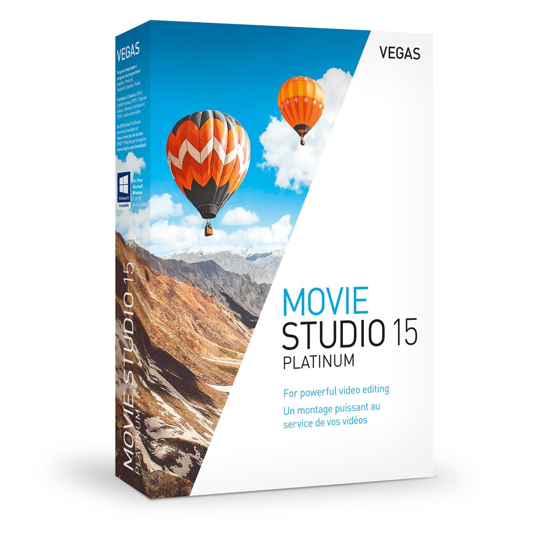 VEGAS Movie Studio 15 Platinum [Download]