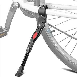 Cavalletto per bicicletta montagna laterale in lega di alluminio regolabile in altezza universale treppiede supporto per bicicletta mountain bike bici da strada 22-27