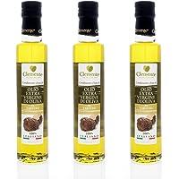 Olio Clemente - 3 bottiglie di Olio Extra Vergine di Oliva, 100% Italiano, Aromatizzato al Tartufo, 250ml