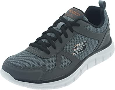 Skechers 52631-ccbk_44, Chaussures de Sport Homme, Grey