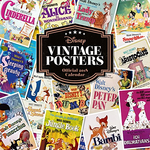 * NEW * Disney Vintage Posters Official 2018 Calendar - all your favourite old films!