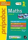 Maths 1re générale (spécialité) - Prépabac: nouveau programme de Première (2020-2021)