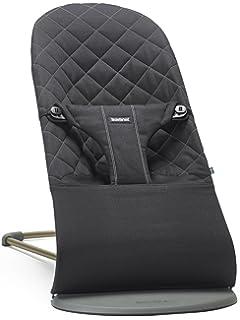 Cotton Babybj/örn 012016 Stoffsitz f/ür Babywippe 300 g schwarz