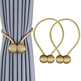 Home Cloud Window Curtain Tiebacks Clips Strong Magnetic Tie Band Home Office Decorative Drapes Weave Holdbacks Holders Europ