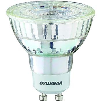 Sylvania GU10 Bombilla LED, 5,2 W Foco Cuerpo de cristal Recambio para halógeno