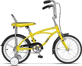 Kinderfahrrad Mädchenfahrrad und Jungesfahrrad mit Trainingsrädern - Premium 16 Zoll Stützrädern Cycling Starter für Kinder ab 4 Jahre