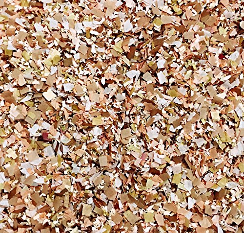 dusty-dusky-antique-peach-rose-gold-copper-confetti-mix-biodegradable-throwing-vintage-wedding-send-