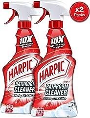 Harpic Bathroom Cleaner Trigger Spray, 2 X 500 ml