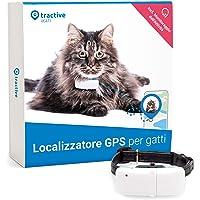 Tractive GPS Cat Tracker (2021) - Localizzatore GPS per gatti, Localizzazione 24/7 e Cronologia di 365 giorni