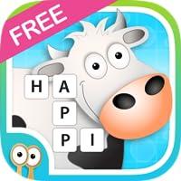 Happi Spells - Free Crossword Puzzle for Kids