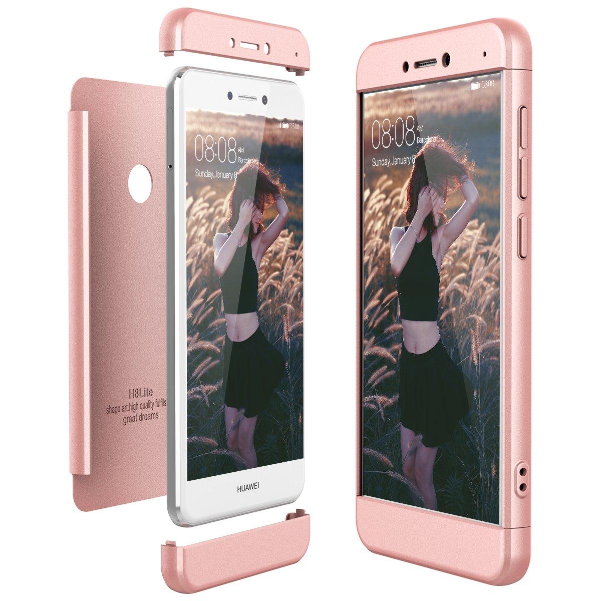 CE-Link Cover Huawei P8 Lite 2017 360 Gradi Full Body Protezione ...