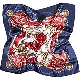 VBIGER Sciarpa in Raso Quadrato Sciarpe Foulards Seta di Seta per Donna Sciarpa multiuso, Adatta per Tutto l'Anno
