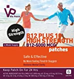 Viepatch Vitamin B12 Plus 10 High Strength Patches 5000mcg - 6 week supply