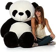 OS Retail 4 Feet Stuffed Spongy Panda Teddy Bear (White ,Black / 122 cm)