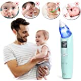 Nasensauger Baby, INTEY Musik Nasal Aspirator mit Licht 3 Betriebsstufen,3 Farben Einstellbar,3 Lautstärkemodi. für Neugeborene & Kleinkinder