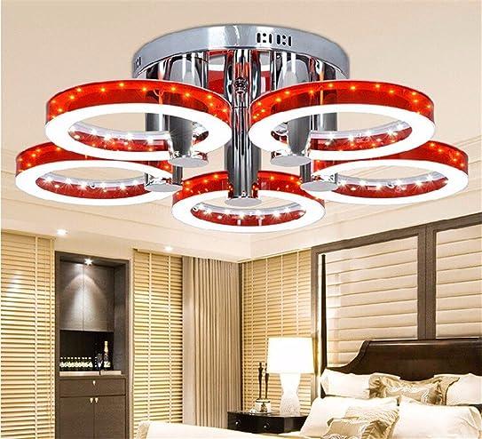 cwill 5 köpfe crystal moderne led-deckenleuchten für wohnzimmer ... - Moderne Deckenleuchten Fur Wohnzimmer
